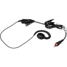 Oorhaak headset met PTT