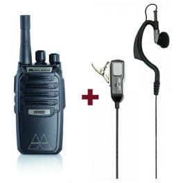 Midland BR02 met headset MA21LKi