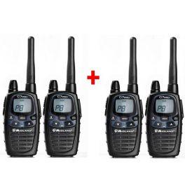 Pack de 4 Midland G7 Pro