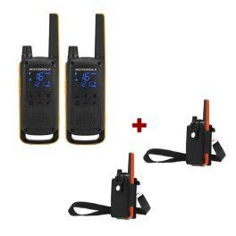 Motorola Talkabout T82 + 2x Beschermhoes