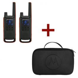 Motorola T82 Talkabout + Draagtas