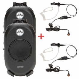 Pack: 2x CLP 446 + 2x security headset