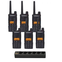 Motorola XT660D 6-pack met 6-voudige oplader (1)