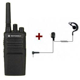 Motorola XT420 Walkie Talkie + 1 PTT Headset