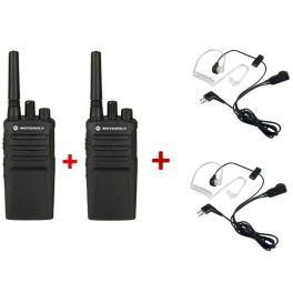 Motorola XT420 2-pack + 2 Bodyguard Kits (2)