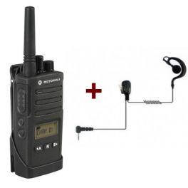 Motorola XT460 + Headset