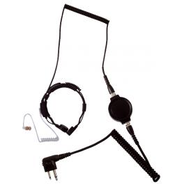 LGR-32M Keelmicrofoon voor Motorola Walkie Talkies (2-Pins)