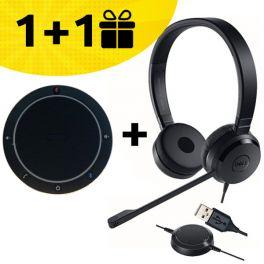 Koop een Cleyver speakerphone en ontvang een gratis Dell headset