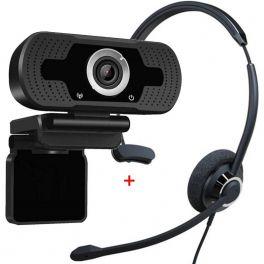 Cleyver HC60 USB + Webcam USB HD