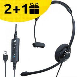 Koop 2 Cleyver HC60 Headsets, ontvang de 3e gratis