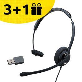 Koop 3 Cleyver HW60 headsets, ontvang de 4e gratis