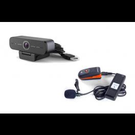 Pack Speechi - dasspeldmicrofoon MIC-001 + HD USB-webcam 90 Pro