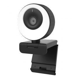 Cleyver HD Webcam met lichtring