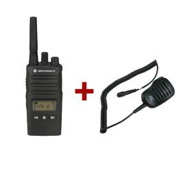 Motorola XT460 + JD500MX HP Microfoon
