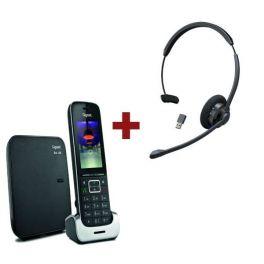 Gigaset SL450 + Cleyver HW60 Bluetooth headset