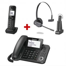 Panasonic KX-TGF310 + Plantronics C565 Draadloze Headset
