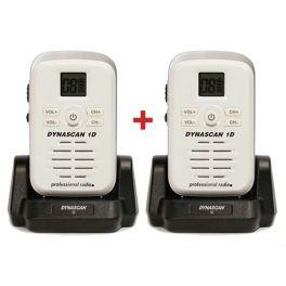 Dynascan 1D PMR446 2-Pack Walkie-Talkies