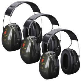 3M Peltor Optime II Gehoorbeschermers - 3-Pack