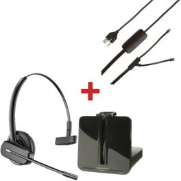 Plantronics CS540 Pack voor Polycom SoundPoint IP-telefoons (1)
