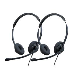 Pack 2 Cleyver ODHC65 USB headsets