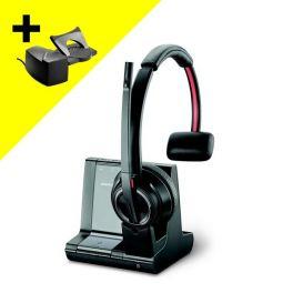 Draadloze headset Plantronics Savi 8210 met Hoornlifter