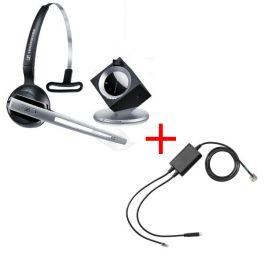 Sennheiser DW 10 PHONE headset + EHS-kabel Polycom