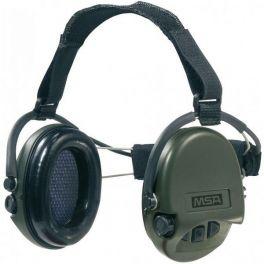 MSA Supreme Pro-X met stoffen hoofdband (groen) (1)