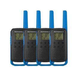 Motorola Talkabout T62 (Blauw) 4-Pack (2x twin)