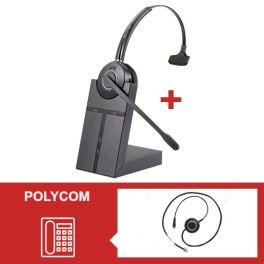 Cleyver HW20-headsetpakket voor Polycom