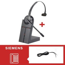 Cleyver HW20-headsetpakket voor Siemens - tweede versie