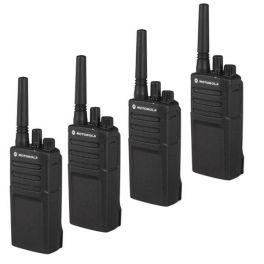 Motorola XT420 Walkie Talkie 4-Pack