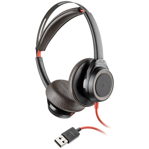 Poly Blackwire 7225 USB-A - Zwart