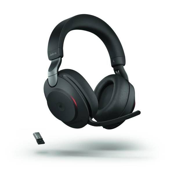 Jabra Evolve2 85 MS Stereo - Zwart