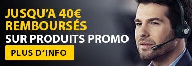 Recevez €40 remboursés