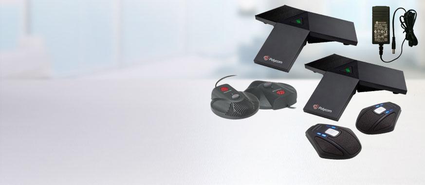 Accessoires voor audioconferenties