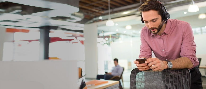 Headsets voor mobiele telefoons en tablets