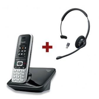 Téléphones sans fil + casque